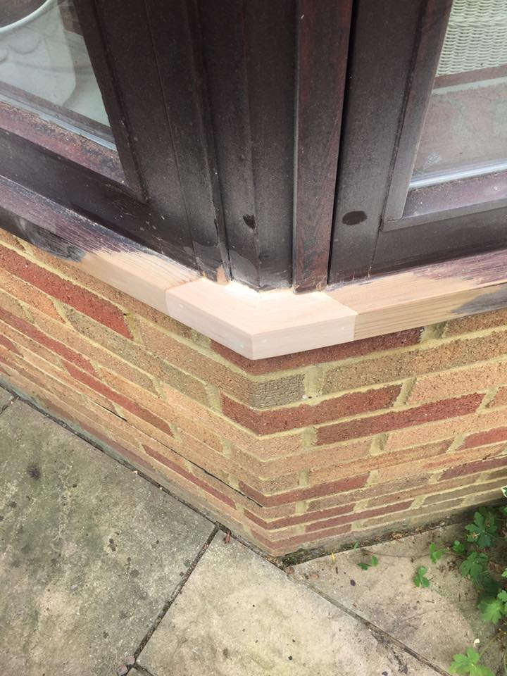 Repairs to window structure